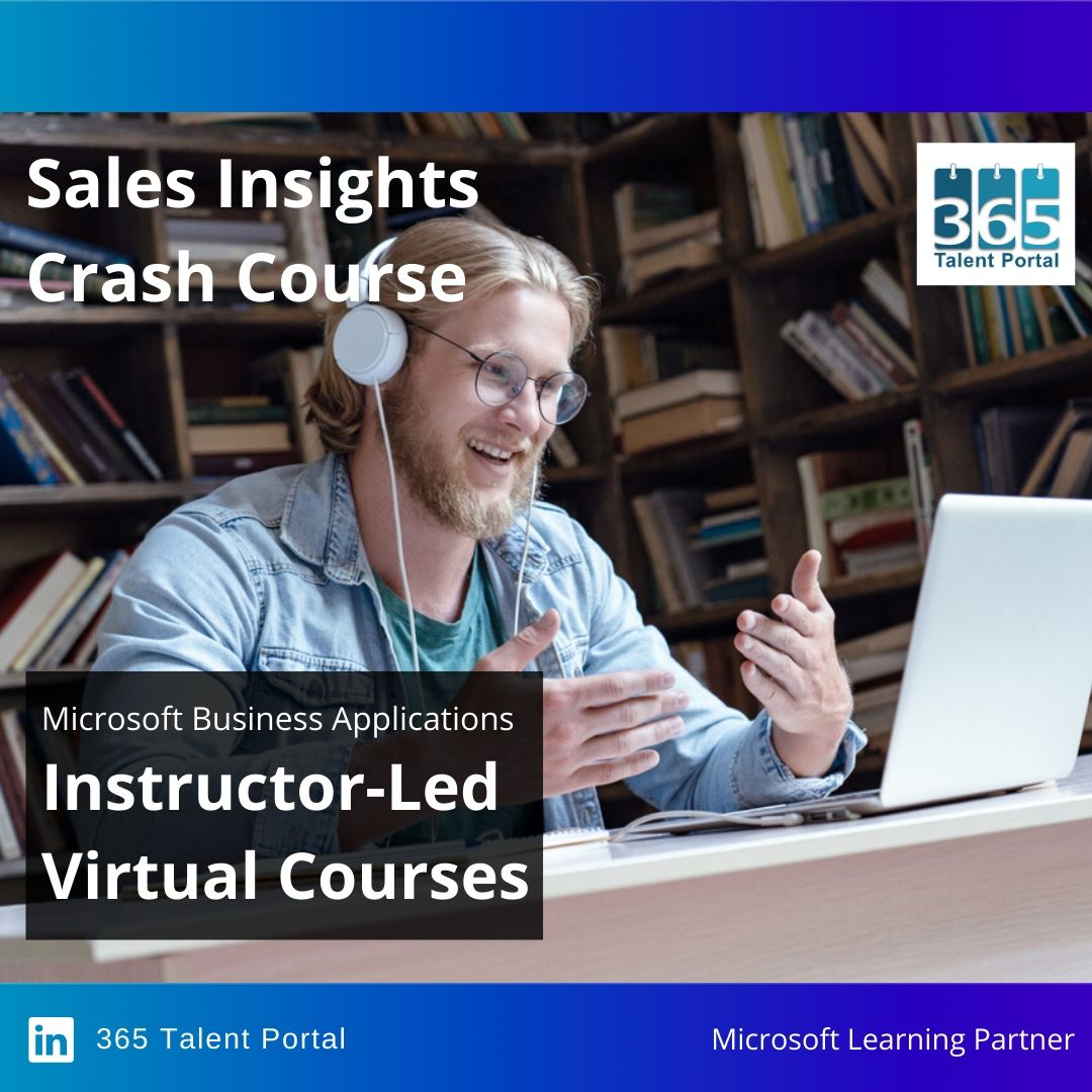 Dynamics 365 Sales Insights training
