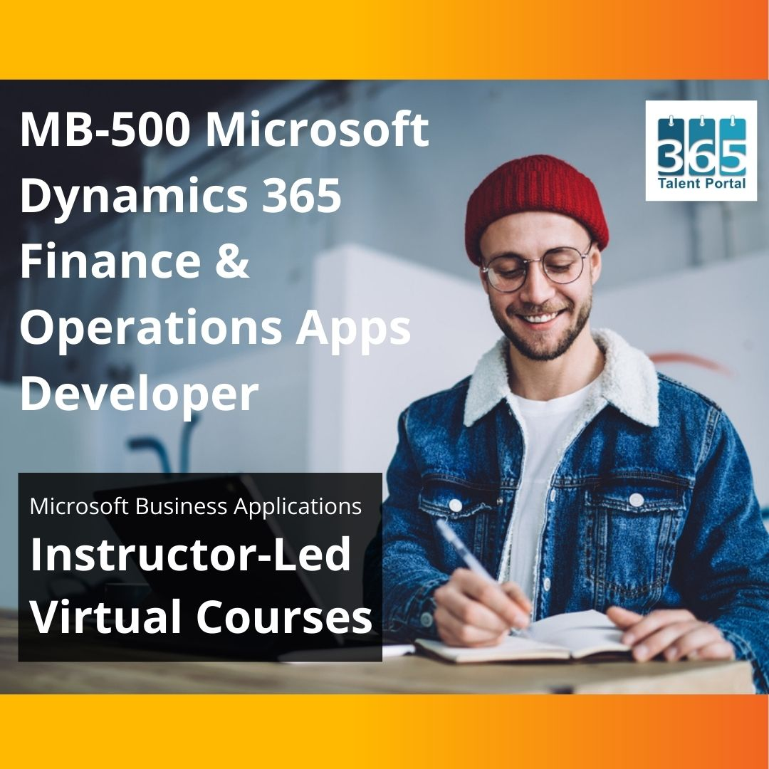 MB-500 Dynamics 365 Finance and Operations Apps Developer