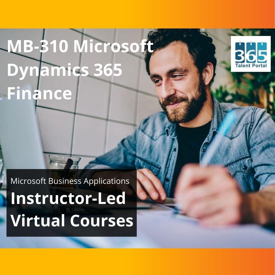 MB-310 Microsoft Dynamics 365 Finance