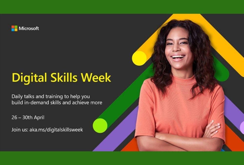 Microsoft Digital Skills Week – 20% Discount on Azure and BizApps Training