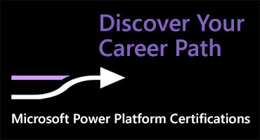 Find your Microsoft Power Platform career path